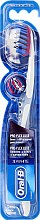 Düfte, Parfümerie und Kosmetik Zahnbürste weich 3D White Pro-Flex Luxe blau-grau - Oral-B Proflex 3D White Luxe 38 Soft