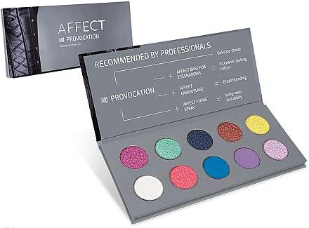 Lidschattenpalette - Affect Cosmetics Provocation Eyeshadow Palette — Bild N1