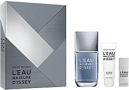 Düfte, Parfümerie und Kosmetik Issey Miyake L'Eau Majeure D'Issey - Duftset (Eau de Toilette/100ml + Eau de Toilette/20ml + Duschgel/75ml)