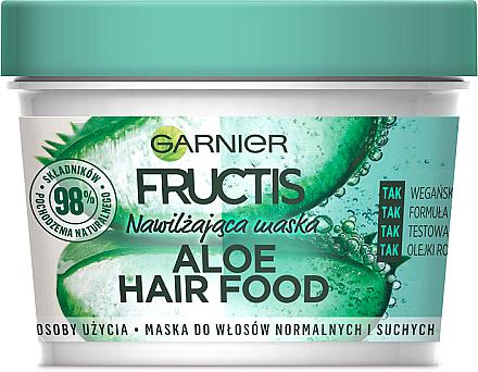 Feuchtigkeitsspendende Haarmaske mit Aloe - Garnier Fructis Aloe Hair Food