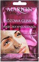 Düfte, Parfümerie und Kosmetik Rosa-Lehm-Gesichtsmaske - Marion SPA Mask