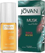 Düfte, Parfümerie und Kosmetik Jovan Tropical Musk - Eau de Cologne