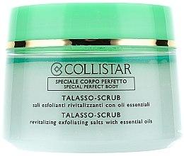 Düfte, Parfümerie und Kosmetik Revitalisierendes Körperpeeling aus Meersalz und reinen ätherischen Ölen - Collistar Talasso Scrub Energizzante