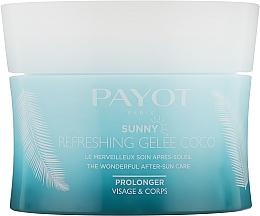 Düfte, Parfümerie und Kosmetik Erfrischendes Körpergelee mit Kokoswasser - Payot Sunny Payot Refreshing Jelly Coco After-Sun Care