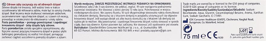 Schützende Zahnpasta gegen Zahnfleischbluten - Parodontax Classic — Bild N2