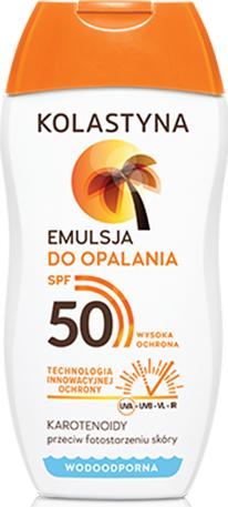 Wasserfeste Sonnenschutzlotion SPF 50 - Kolastyna — Bild N1