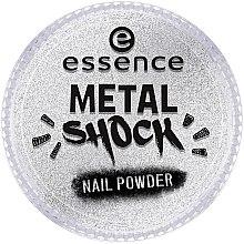 Düfte, Parfümerie und Kosmetik Nagelpuder mit Spiegeleffekt - Essence Metal Shock Rainbow Nail Powder