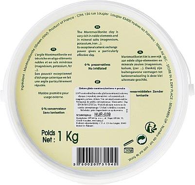 Kosmetische grüne Tonerde - Naturado Green Clay — Bild N4
