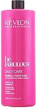 Düfte, Parfümerie und Kosmetik Stärkendes Shampoo für normales und dickes Haar - Revlon Professional Be Fabulous Daily Care Shampoo