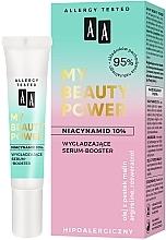 Düfte, Parfümerie und Kosmetik Glättender Serum-Booster für das Gesicht mit Niacinamid - AA My Beauty Power Niacinamide 10% Smoothing Serum-Booster