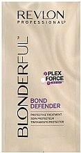 Düfte, Parfümerie und Kosmetik Regenerierende Haarkur für blondes und aufgehelltes Haar - Revlon Professional Blonderful Bond Defender (Mini)
