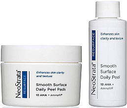 Düfte, Parfümerie und Kosmetik Anti-Falten Gesichtspeeling für den täglichen Gebrauch - NeoStrata Resurface Smooth Surface Daily Peel (Peeling/60ml + Wattepads/36 St.)