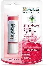 Düfte, Parfümerie und Kosmetik Lippenbalsam Erdbeeren - Himalaya Herbals Strawberry Shine Lip Balm