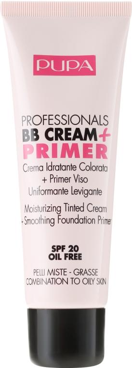 Anti-Aging BB Creme SPF 20 - Pupa BB Cream + Primer For Combination To Oily Skin — Bild N2