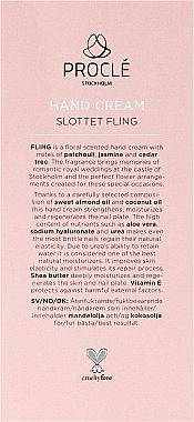 Handcreme - Procle Hand Cream Slottet Fling — Bild N6