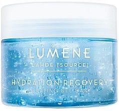 Düfte, Parfümerie und Kosmetik Regenerierende und feuchtigkeitsspendende Gesichtsgel-Maske mit Sauerstoff - Lumene Lahde Hydration Recovery Oxygenating Gel Mask