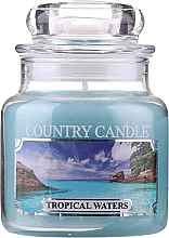 Düfte, Parfümerie und Kosmetik Duftkerze im Glas Tropical Waters - Country Candle Tropical Waters