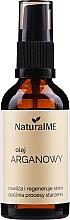 Düfte, Parfümerie und Kosmetik Arganöl für Körper, Gesicht und Haar - NaturalME (mit Pumpenspender)