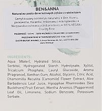 Natürliche sensitive Zahnpasta - Ben & Anna Natural Sensitive Toothpaste — Bild N3
