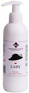 """Körper- und Handbalsam """"Lady"""" - Madame Justine Lady Balsam — Bild N1"""
