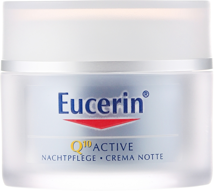 Anti-Aging Nachtcreme - Eucerin Q10 Active Night Cream — Bild N2