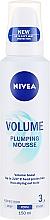 Düfte, Parfümerie und Kosmetik Haarmousse für mehr Volumen - Nivea Volume Plumping Mousse Hair Volume
