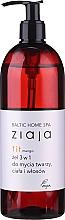 Düfte, Parfümerie und Kosmetik 3in1 Duschgel mit Mango-Extrakt für Gesicht, Körper und Haar - Ziaja Baltic Home Spa Gel Mango