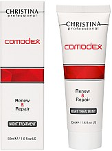 Düfte, Parfümerie und Kosmetik Nachtserum für fettige und Problemhaut - Christina Comodex Renew & Repair Night Treatment
