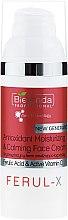 Düfte, Parfümerie und Kosmetik Antioxidative feuchtigkeitsspendende und beruhigende Gesichtscreme - Bielenda Professional Ferul-X Antioxidant Moisturizing & Calming Face Cream