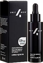 Düfte, Parfümerie und Kosmetik Parfümiertes Bartöl mit Zitrusfrüchten und Moschus - Unit4Men Citrus&Musk Perfumed Beard Oil