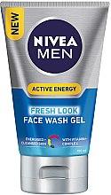 Düfte, Parfümerie und Kosmetik Gesichtswaschgel mit Vitaminkomplex für Männer - Nivea For Men Face Wash
