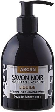 Schwarze Flüssigseife mit Arganöl - Beaute Marrakech Argan Black Liquid Soap  — Bild N1