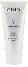 Düfte, Parfümerie und Kosmetik Glättende und straffende Anti-Falten Gesichtsmaske - Ioma 3 Renew Anti-Wrinkle Mask