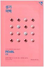 Düfte, Parfümerie und Kosmetik Aufhellende Tuchmaske mit Perlenextrakt - Holika Holika Pure Essence Mask Sheet Pearl