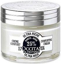 Düfte, Parfümerie und Kosmetik Ultra reichhaltige pflegende Gesichtscreme mit 25% Sheabutter - L'occitane Ultra Rich Face Cream