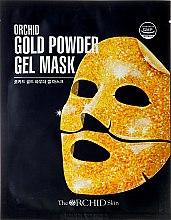 Düfte, Parfümerie und Kosmetik Hydrogel Gesichtsmaske mit 24K Goldpartikeln - The Orchid Skin Gold Powder Gel Mask