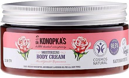 Feuchtigkeitsspendende Körperlotion - Dr. Konopka's Moisturizing Body Cream — Bild N1
