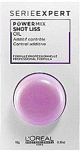 Düfte, Parfümerie und Kosmetik Zusatz zur Haarmaske für rebellisches Haar - L'Oreal Professionnel Serie Expert Powermix Shot Liss Oil