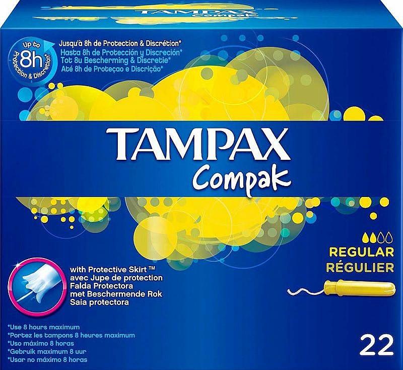 Tampons mit Applikator 22 St. - Tampax Compak Regular — Bild N1