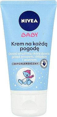 Wind & Wetter Schutzcreme für Babys - Nivea Baby Cream For Any Weather Hypoallergenic — Bild N1