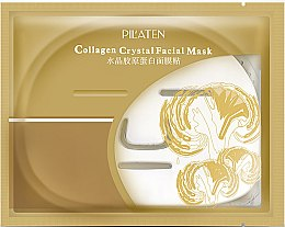 Düfte, Parfümerie und Kosmetik Tuchmaske mit Collagen - Pilaten Collagen Crystal Facial Mask