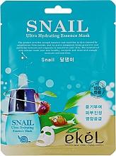 Düfte, Parfümerie und Kosmetik Feuchtigkeitsspnedende Tuchmaske mit Schneckenschleim-Extrakt - Ekel Snail Hydrating Essence Mask