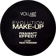 Düfte, Parfümerie und Kosmetik Loser und fixierender Reispuder - Vollare Cosmetics Evolution Make-up Rise Powder