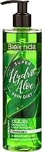 Feuchtigkeitsspendendes Bade- und Duschöl mit Aloe Vera - Bielenda Super Skin Diet Hydro Aloe — Bild N1