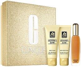 Düfte, Parfümerie und Kosmetik Clinique Aromatics Elixir Essentials Set - Duftset (Eau de Parfum/45ml+Duschgel/75ml+Körperlotion75ml)