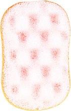 Düfte, Parfümerie und Kosmetik Badeschwamm 6019 weiß-orange - Donegal