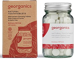 Düfte, Parfümerie und Kosmetik Zahnreinigungstabletten-Eukalyptus - Georganics Toothtablets Eucalyptus