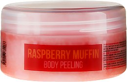 Düfte, Parfümerie und Kosmetik Feuchtigkeitsspendendes Körperpeeling Himbeermuffin mit Mandelöl und Sesam - Stani Chef's Raspberry Muffin Body Peeling