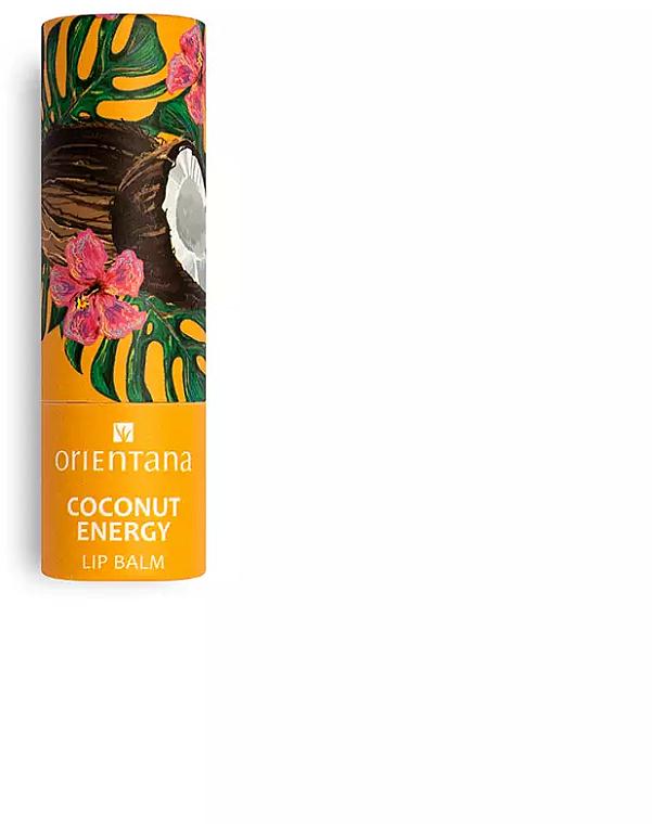 Lippenbalsam Kokosnussenergie - Orientana — Bild N1