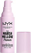 Düfte, Parfümerie und Kosmetik Gesichtsprimer - NYX Professional The Marshmellow Smoothing Primer